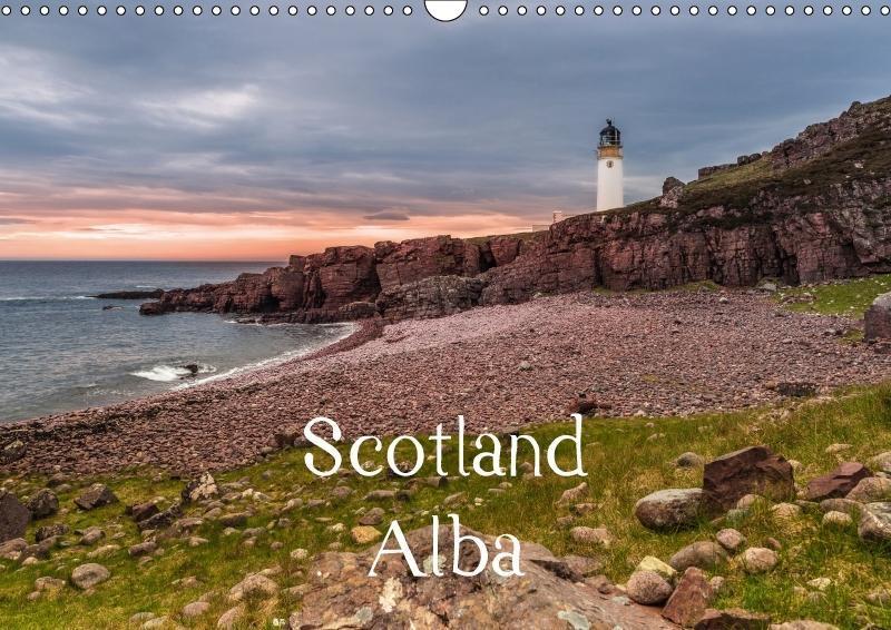 Scotland Alba (Wall Calendar 2018 DIN A3 Landsc...