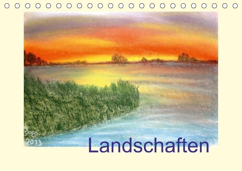 Landschaften (Tischkalender 2018 DIN A5 quer)
