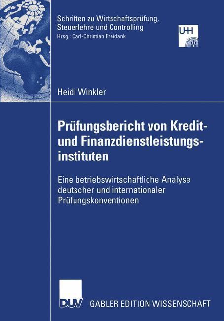 Prüfungsbericht von Kredit- und Finanzdienstlei...