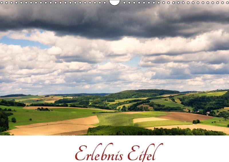 Erlebnis Eifel (Wandkalender 2018 DIN A3 quer)
