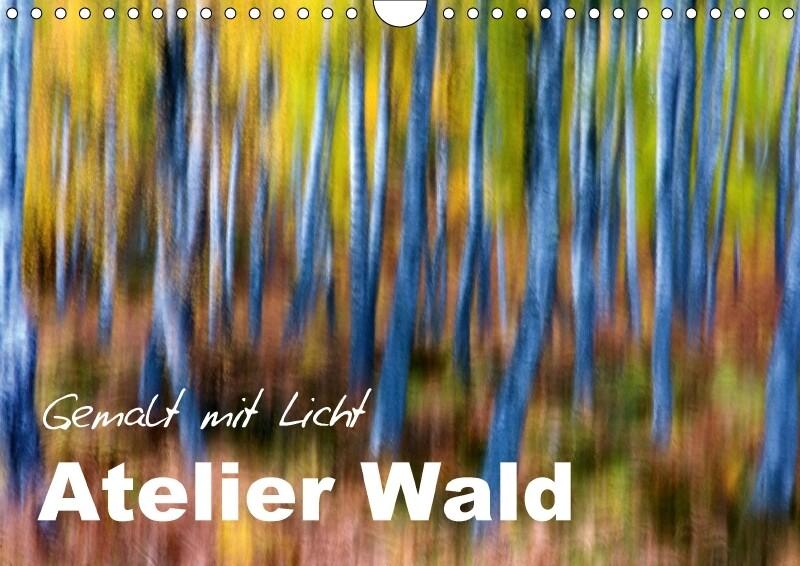 Atelier Wald - gemalt mit Licht (Wandkalender 2...