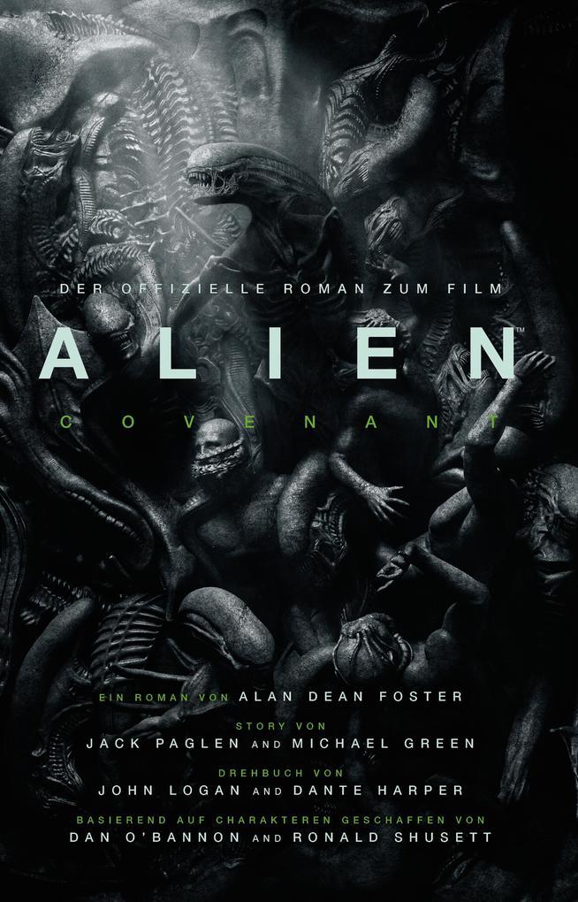 Alien: Covenant als Buch