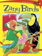 Spark Zany Birds Coloring Book