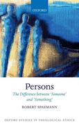 Persons: The Difference Between `someone' and `something'
