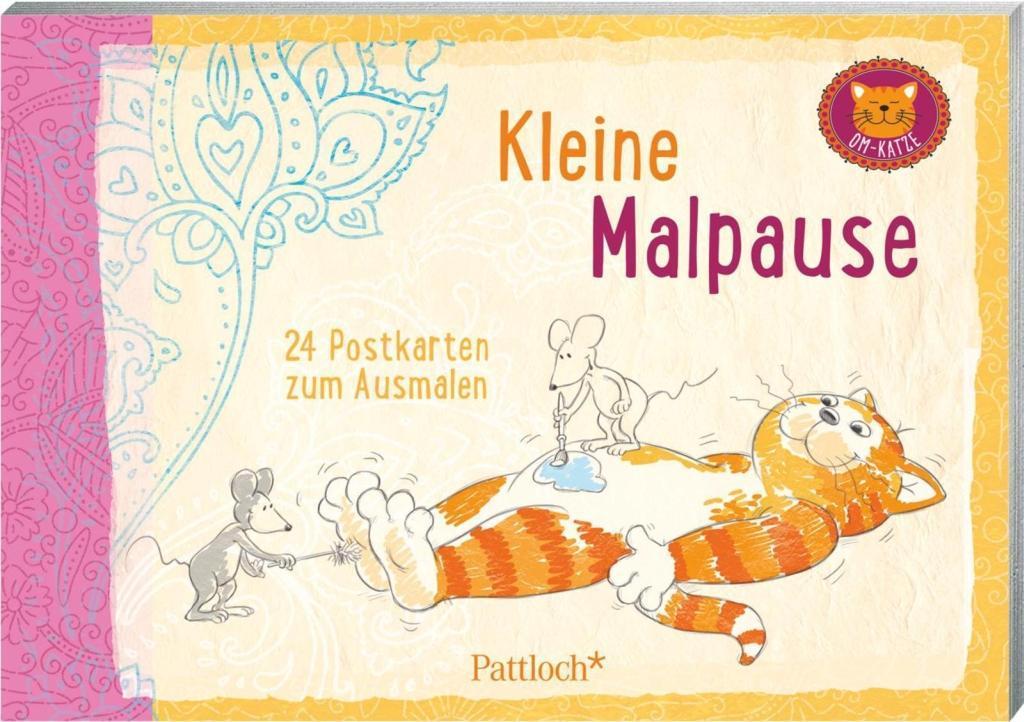 Om-Katze: Kleine Malpause als Buch von