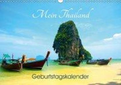 Mein Thailand - Geburtstagskalender (Wandkalend...