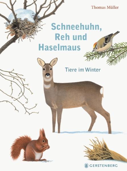 Schneehuhn, Reh und Haselmaus als Buch