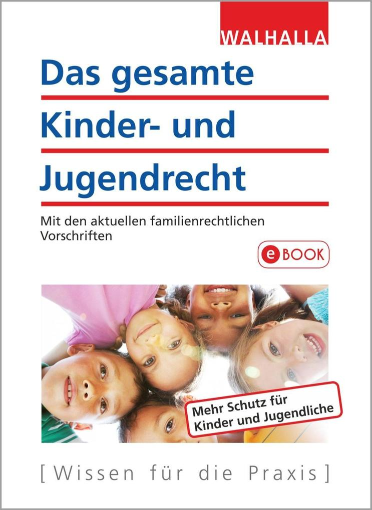 Das gesamte Kinder- und Jugendrecht als eBook D...