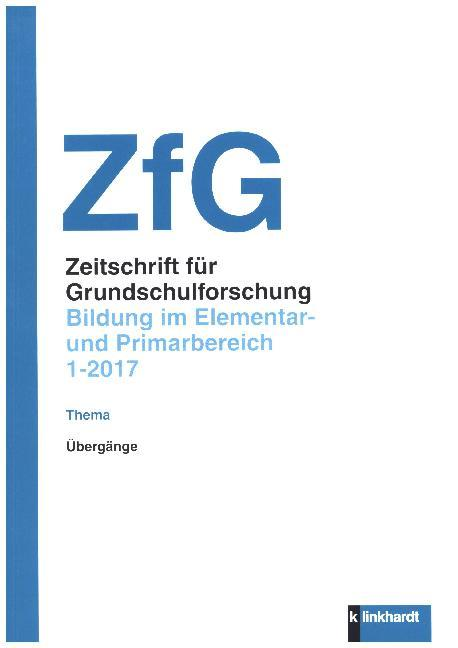 Zeitschrift für Grundschulforschung. als Buch von