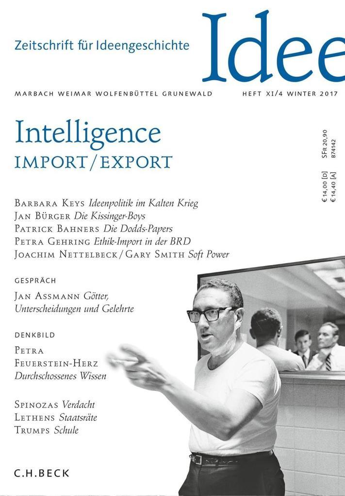 Zeitschrift für Ideengeschichte Heft XI/4 Winte...