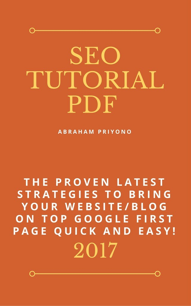 SEO Tutorial Pdf als eBook Download von Abraham...