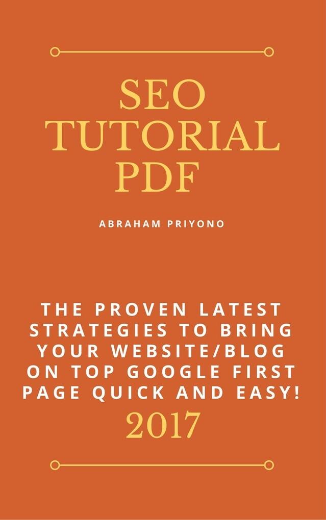 SEO Tutorial Pdf als eBook Download von Abraham...