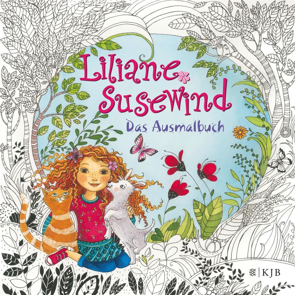 Liliane Susewind - Das Ausmalbuch als Buch