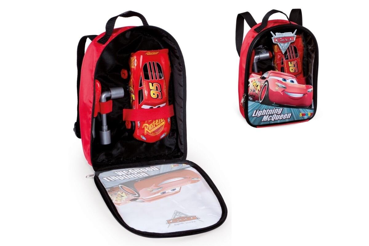 CARS Rucksack + Inhalt, 3-tlg