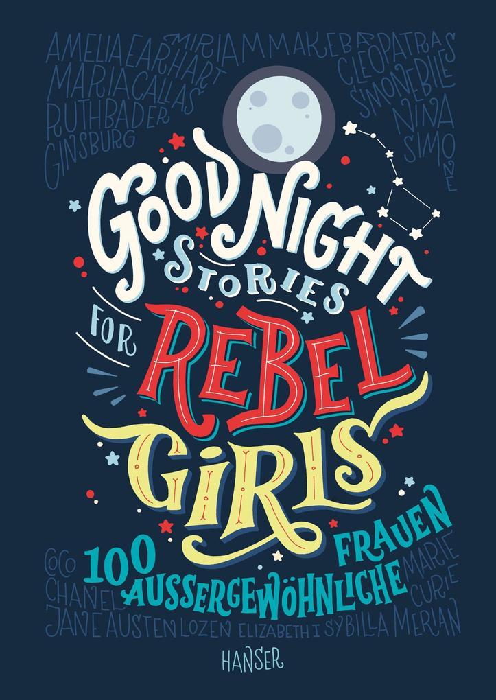 Good Night Stories for Rebel Girls als Buch (gebunden)