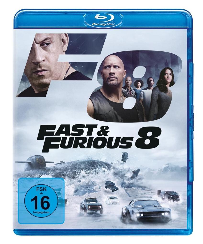 Fast & Furious 8 als DVD