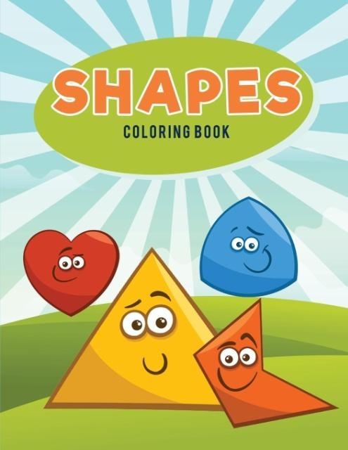 Shapes Coloring Book als Taschenbuch von Colori...