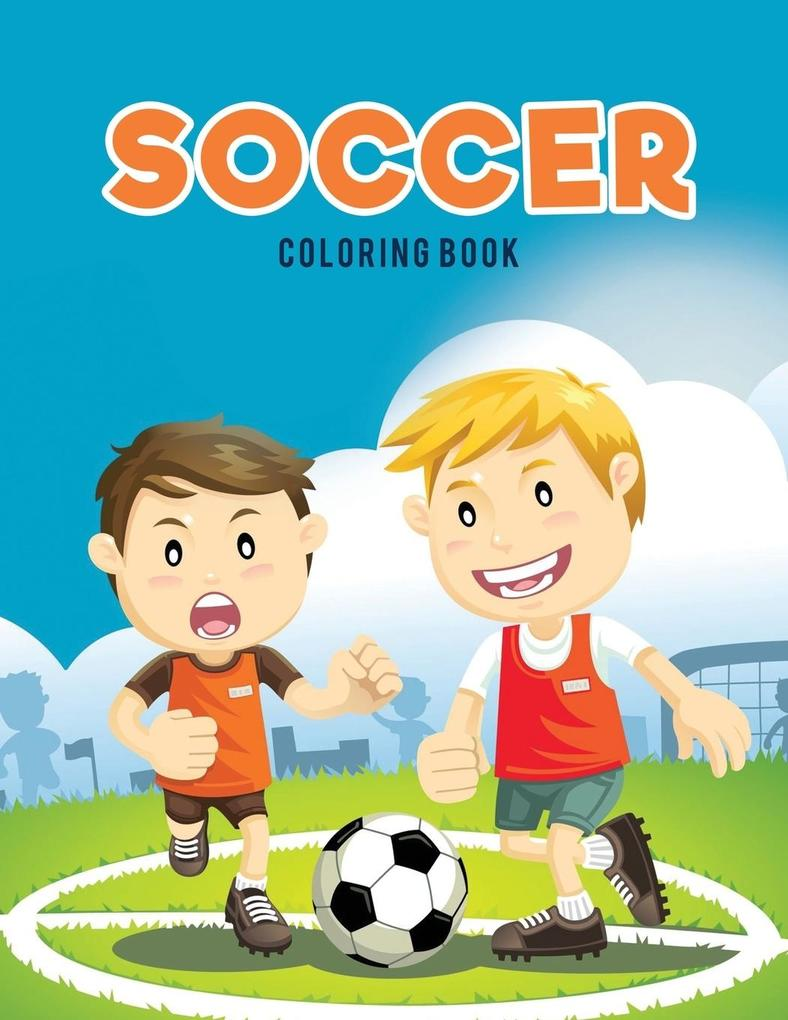 Soccer coloring Book als Taschenbuch von Colori...