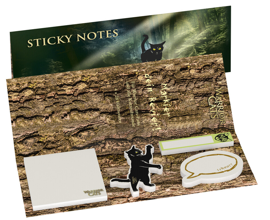 Warrior Cats - Sticky Notes als Spielwaren