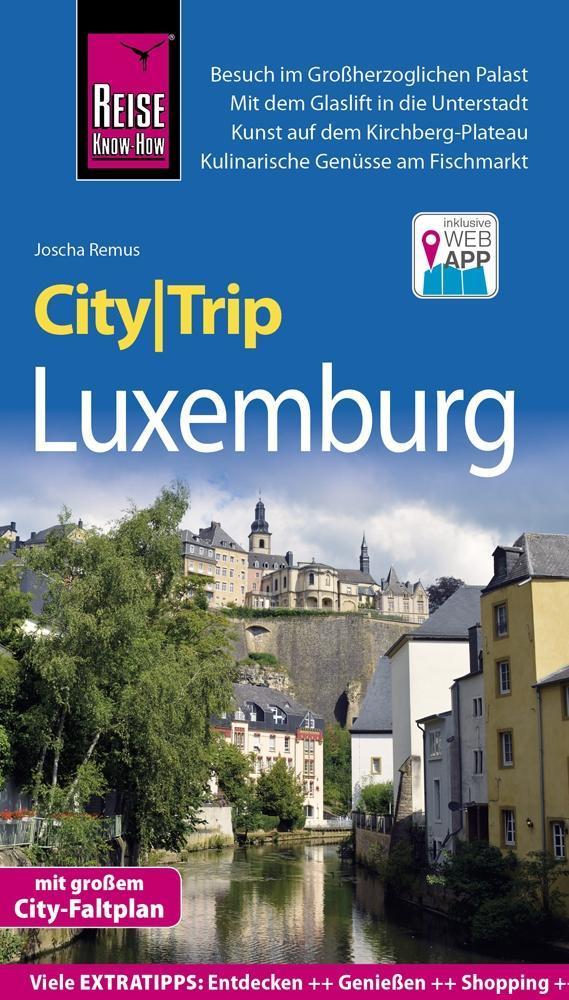 Reise Know-How CityTrip Luxemburg als Buch