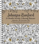 2018 Johanna Basford 16M Coloring Diary