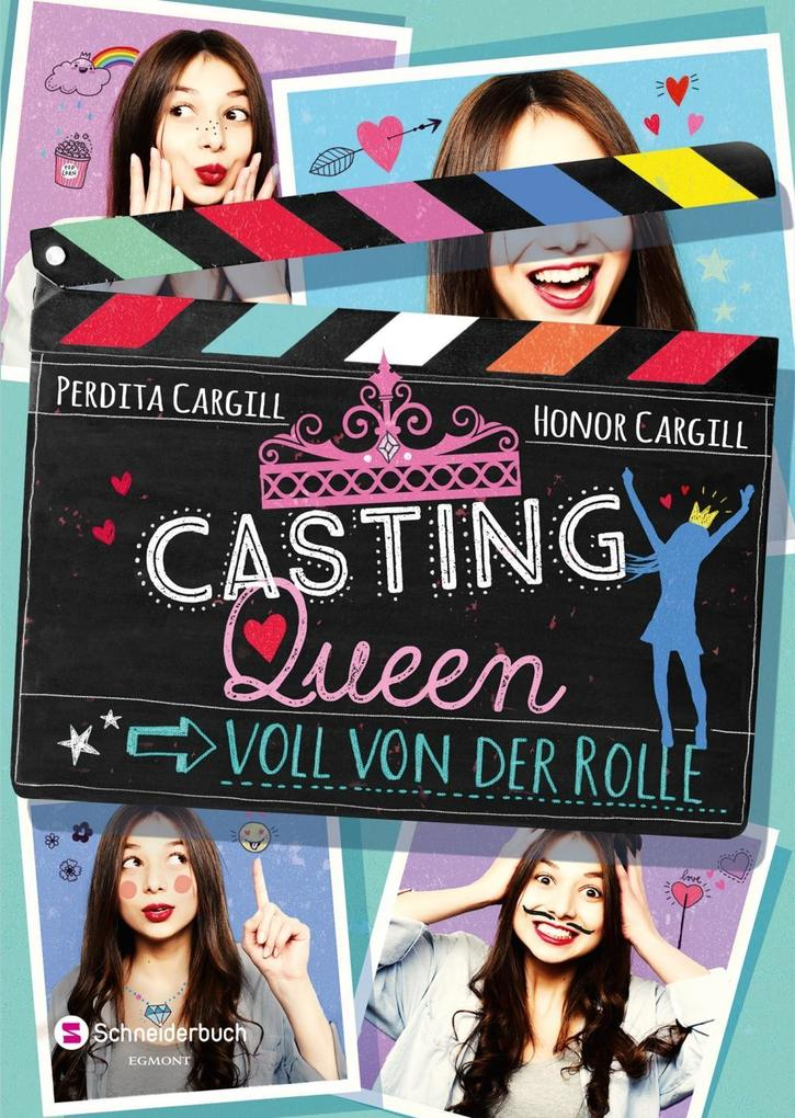 Casting-Queen, Band 01 - Voll von der Rolle als...