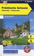 Kümmerly+Frey Outdoorkarte Fränkische Schweiz