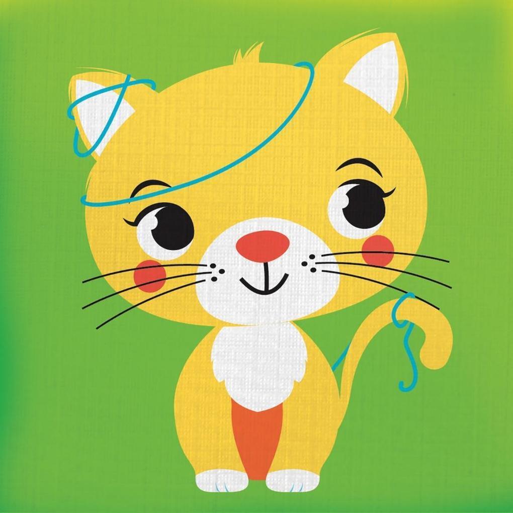Knuddel mich! - Katze als Buch von