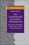 Das Salomonische des Sprichwörterbuchs