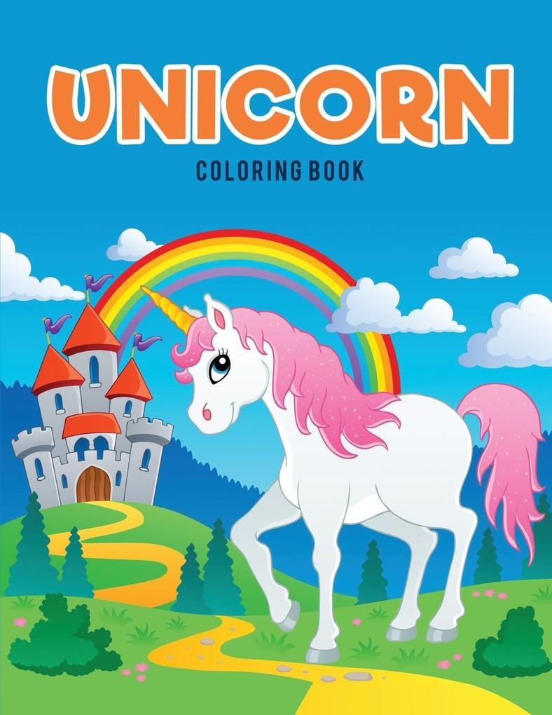 Unicorn Coloring Book als Taschenbuch von Color...