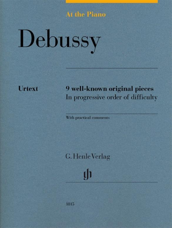 At the Piano - Debussy als Buch von Claude Debu...