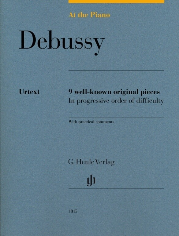 At the Piano - Debussy als Buch von Claude Debussy
