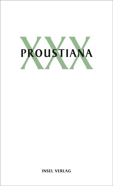 Proustiana XXX als Buch von