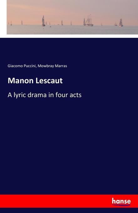 Manon Lescaut als Buch (gebunden)