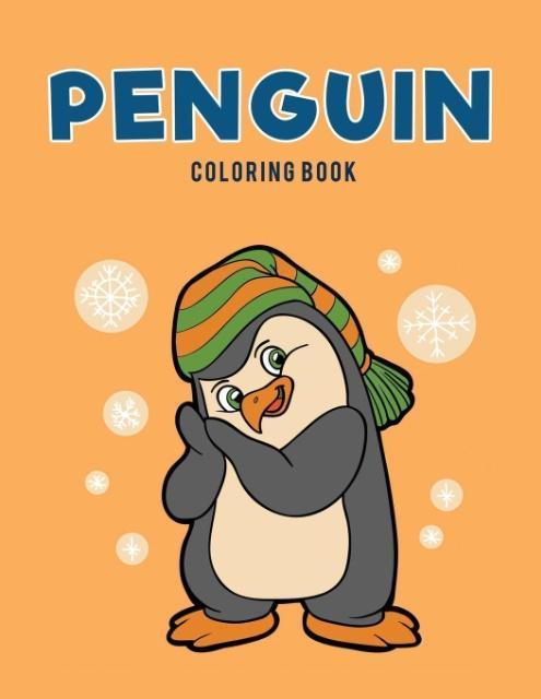 Penguin Coloring Book als Taschenbuch von Color...