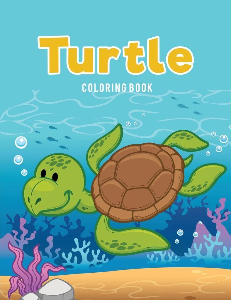 Turtle Coloring Book als Taschenbuch von Colori...