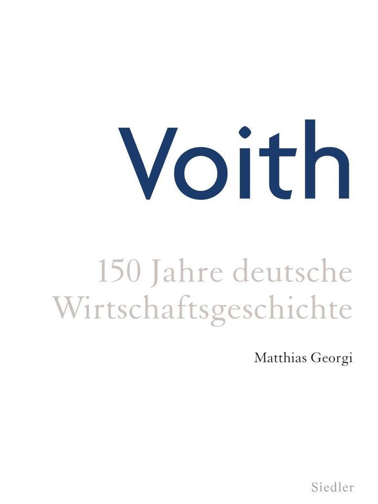 Voith als Buch von Matthias Georgi