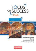 Focus on Success PLUS - Zu allen Bänden - Group Discussion Cards