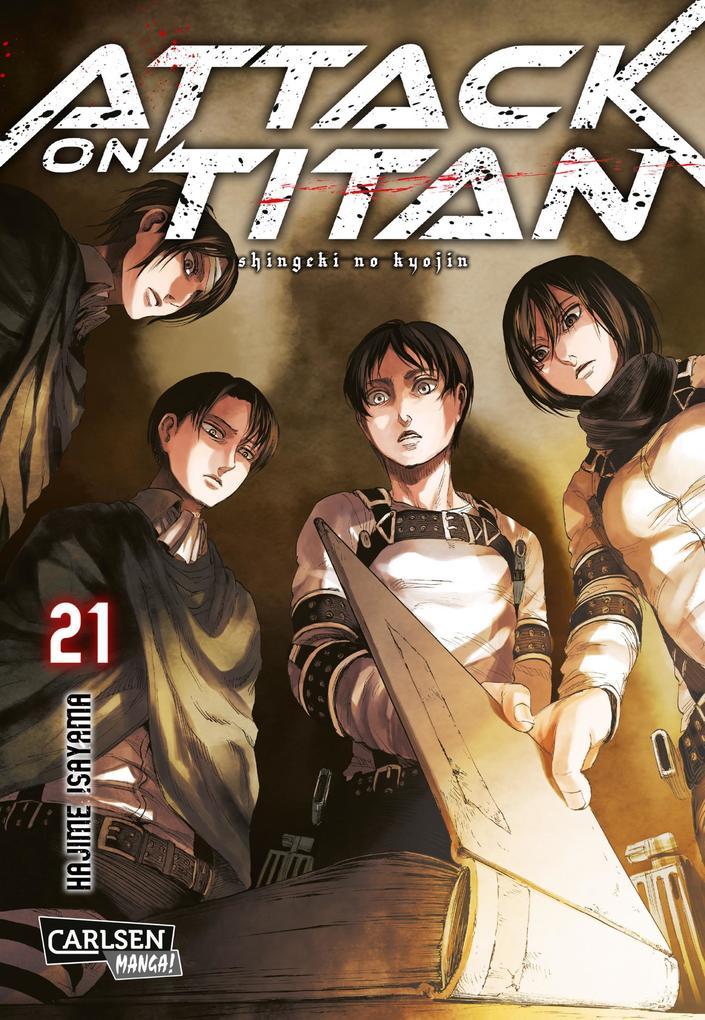 Attack on Titan 21 als Buch
