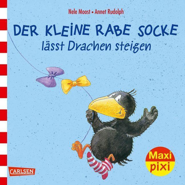 Der kleine Rabe Socke lässt Drachen steigen als Buch