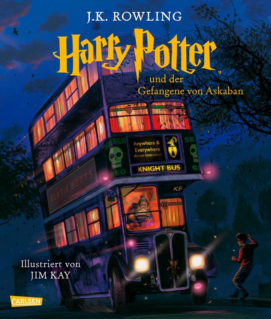 Harry Potter 3 und der Gefangene von Askaban (vierfarbig illustrierte Schmuckausgabe) als Buch