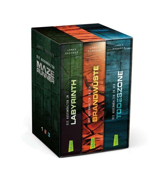 Maze Runner - Die Auserwählten. Band 1-3 im Schuber als Taschenbuch