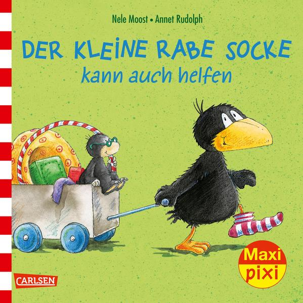 Maxi-Pixi Nr. 230: VE 5 Der kleine Rabe Socke kann auch helfen als Buch