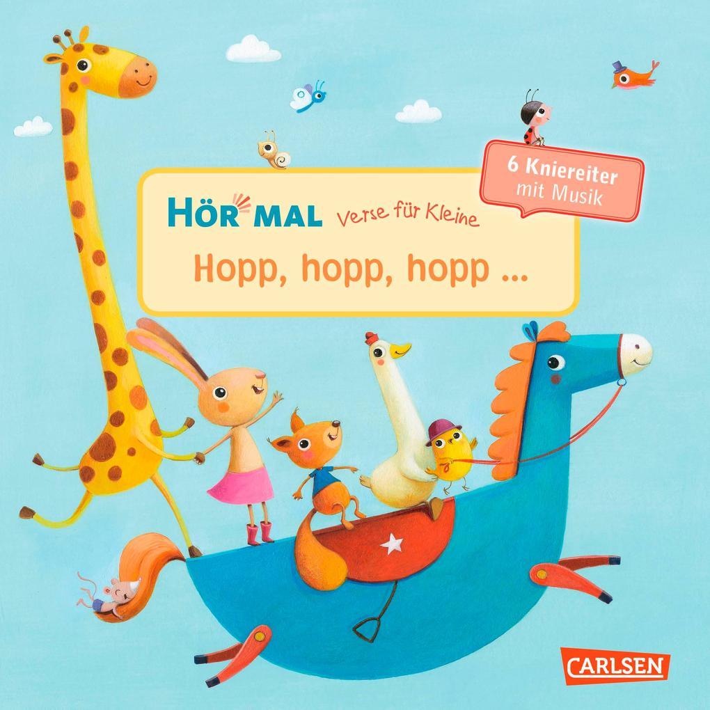 Hör mal: Verse für Kleine: Hopp, hopp, hopp ... als Buch