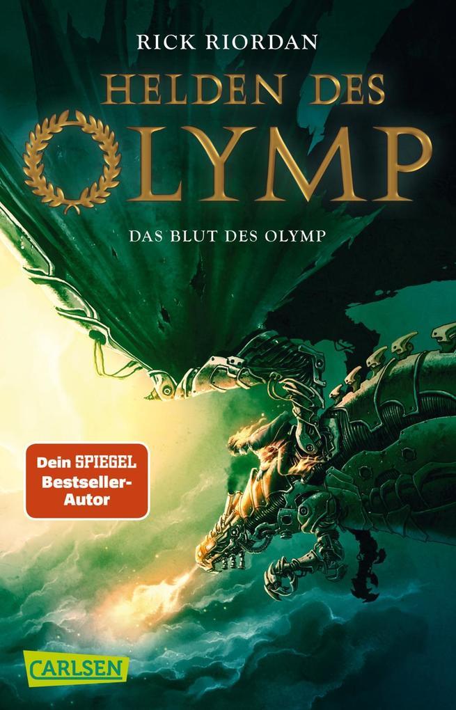 Helden des Olymp 5: Das Blut des Olymp als Taschenbuch