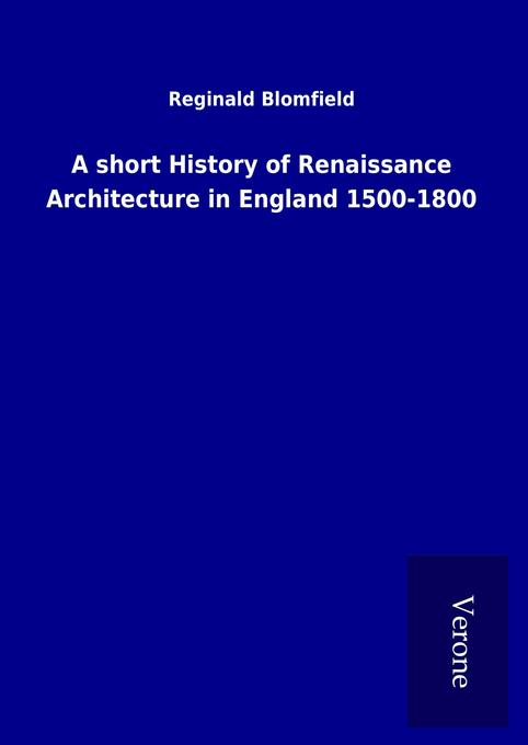 A short History of Renaissance Architecture in ...