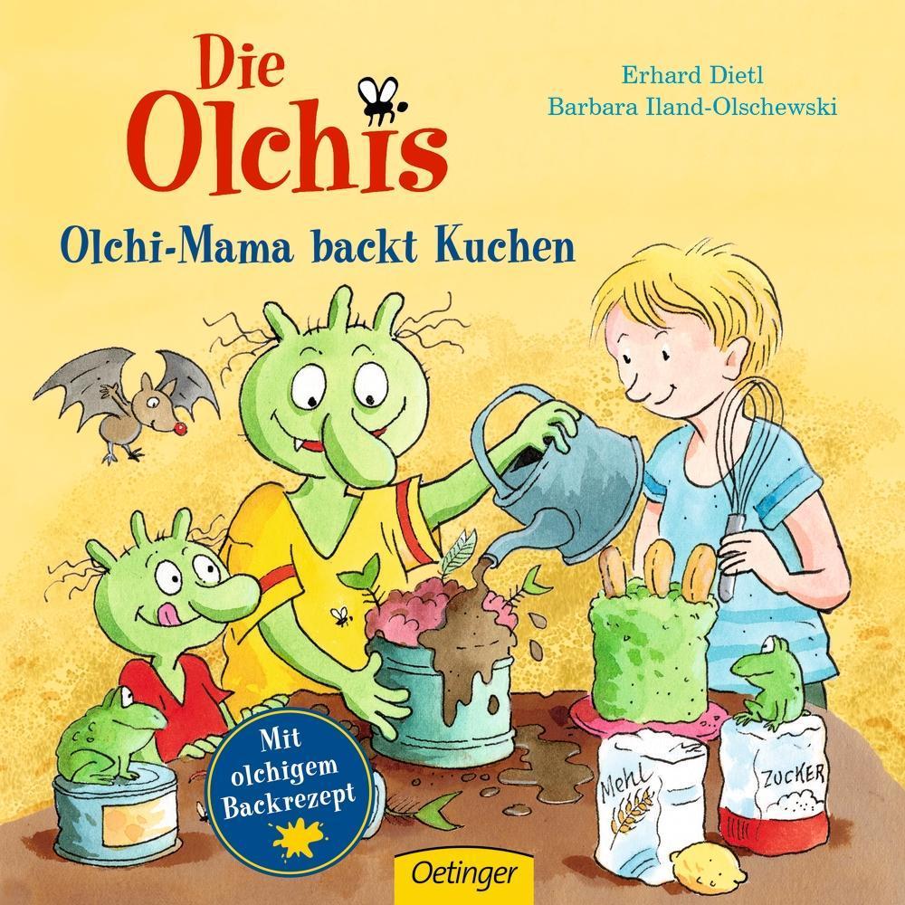 Die Olchis Olchi Mama Backt Kuchen Buch Gebunden Erhard Dietl Barbara Iland Olschewski