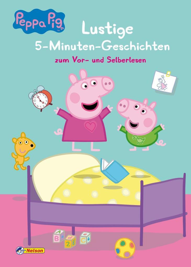 Peppa: Lustige 5-Minuten-Geschichten als Buch