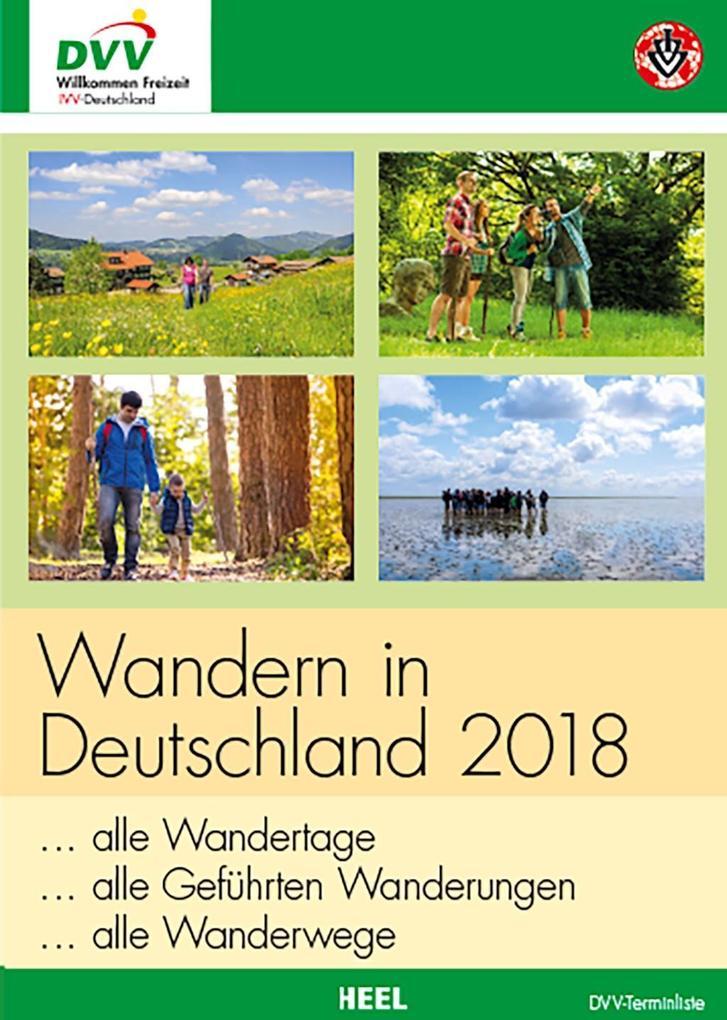 Wandern in Deutschland 2018 als Buch von