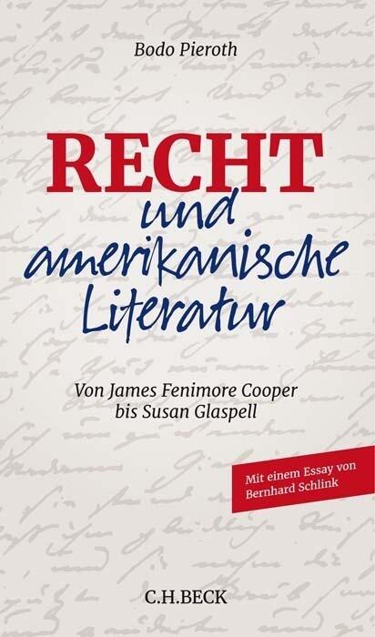 Recht und amerikanische Literatur als Buch